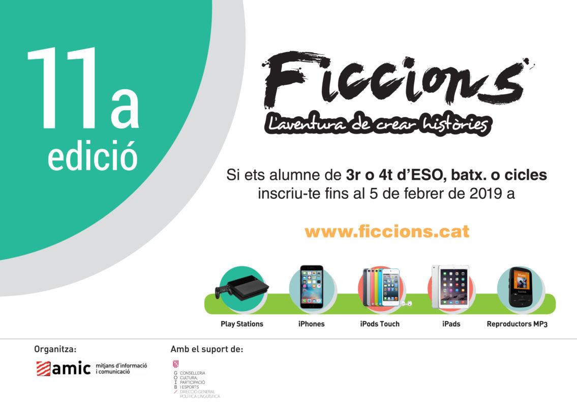 Torna El Concurs Literari Ficcions, L'aventura De Crear Històries