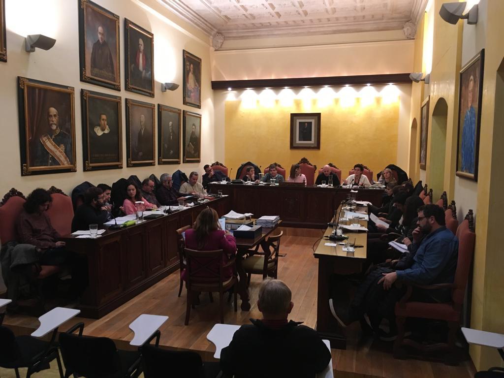 El Ple De L'Ajuntament Aprova El Pressupost Del 2019 Amb L'oposició Frontal De MÉS-Esquerra, PSOE I Volem