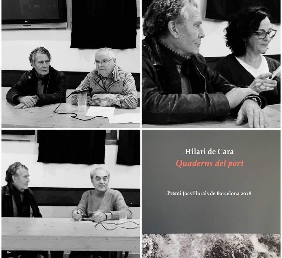 Presentat Quaderns Del Port, El Darrer Poemari D'Hilari De Cara, Premi Jocs Florals De Barcelona