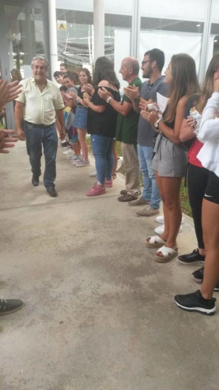 L'IES Manacor Ret Homenatge A Pedro Galmés, Conserge Del Centre Durant Més De 39 Anys