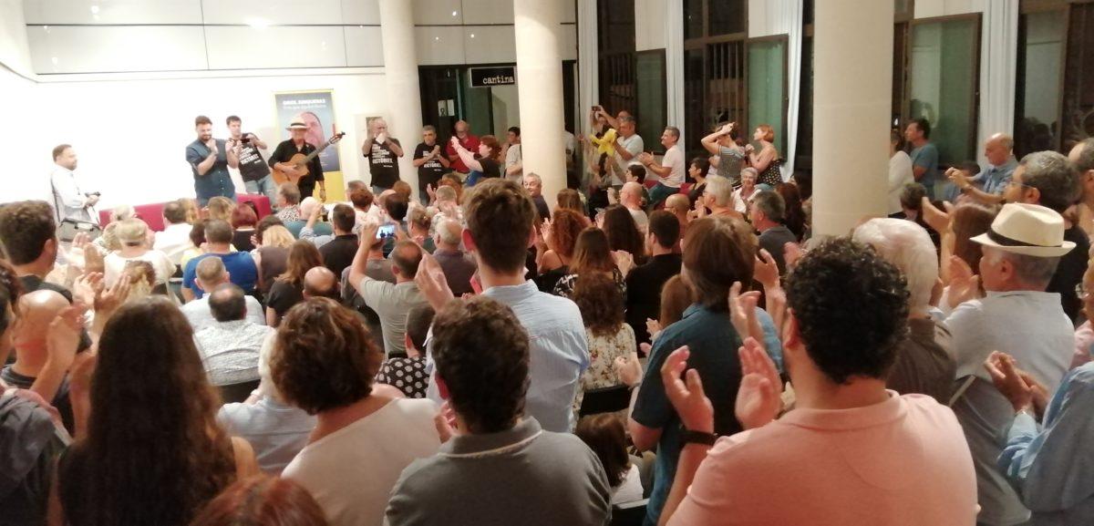 Gabriel Rufián Dugué Dissabte Passat A Manacor La Solidaritat Amb Els Presos Polítics