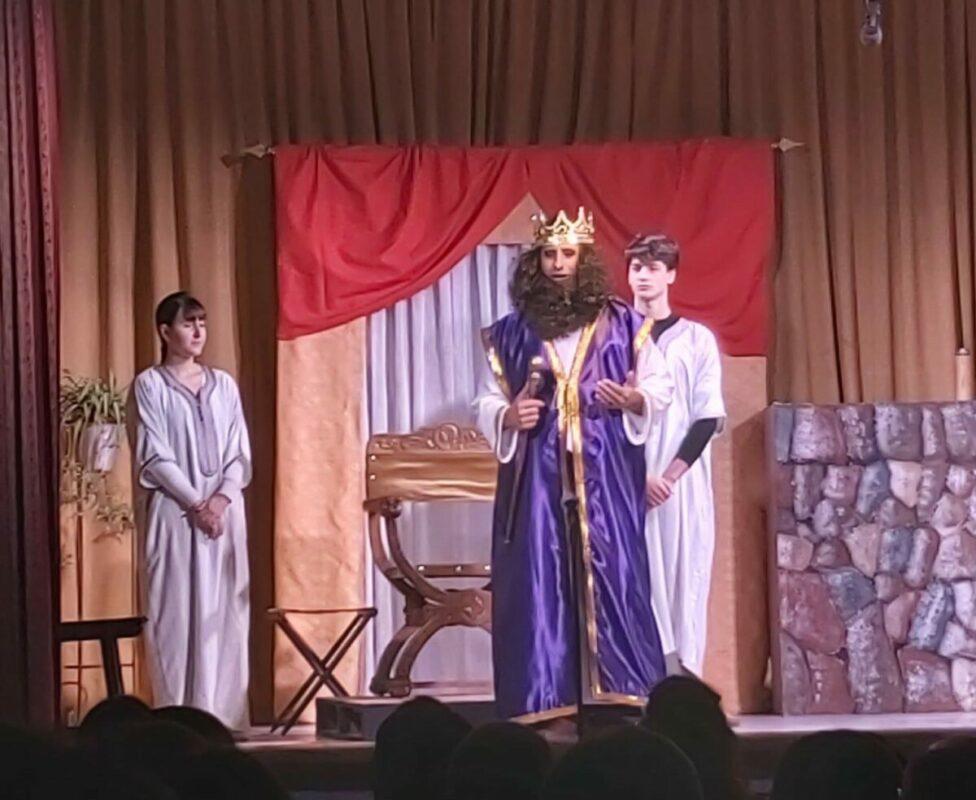 El Rei Herodes Romp La Taula Macianera