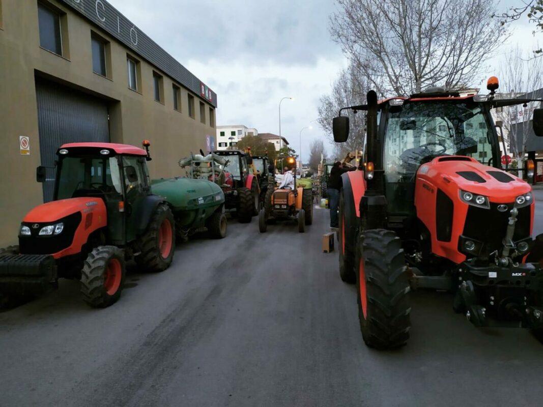 Pagesos Voluntaris Ajuden A Desinfectar Manacor
