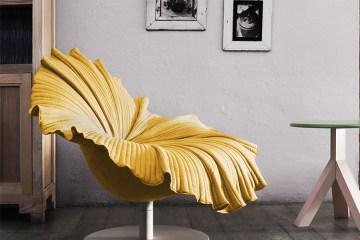 เก้าอี้ดอกไม้