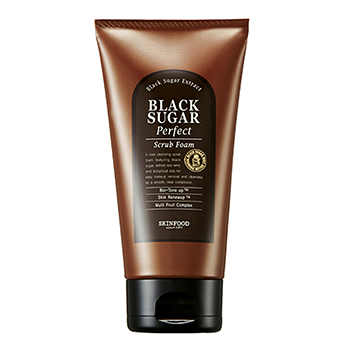 SKINFOOD โฟมสครับ Black Sugar Perfect Scrub Foam 180 g.