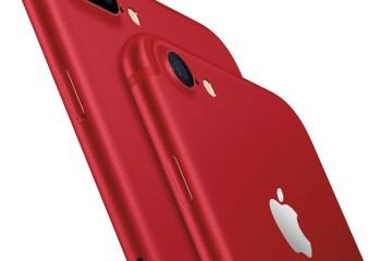 iPhone 7 Plus สีแดง