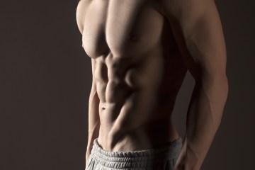 สร้างกล้ามหน้าท้อง ออกกำลังกาย ควบคุมอาหาร