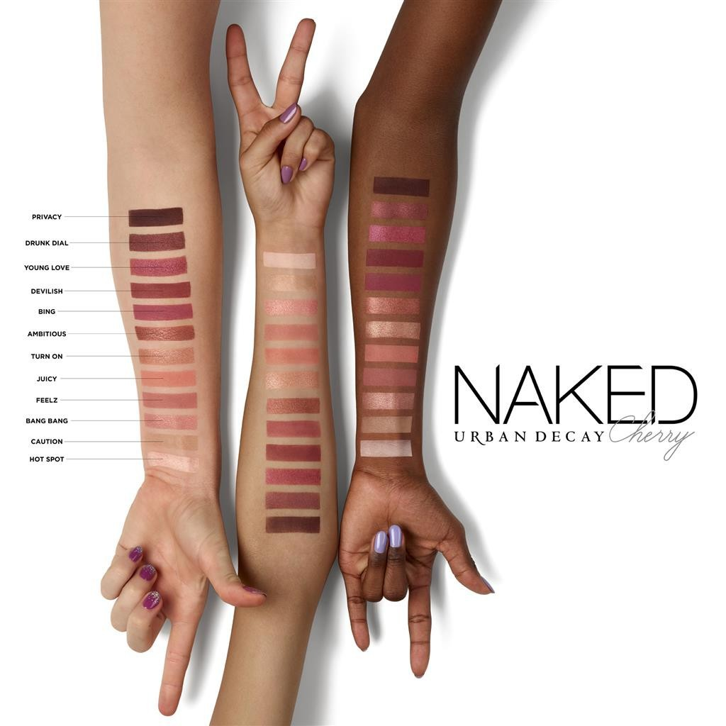 Naked Cherry Arm Swatch