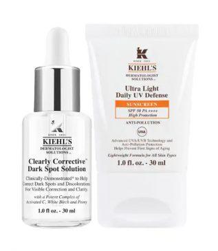 KIEHL'S-Dark Spot Serum & UV Set