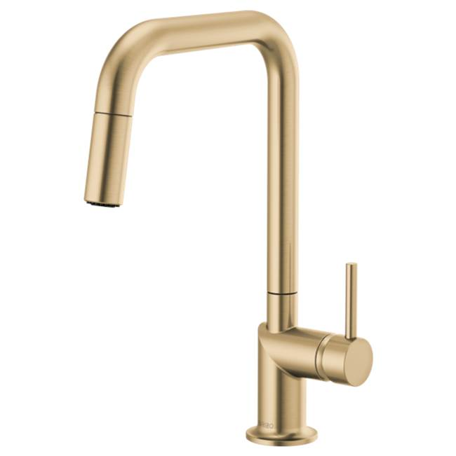 brizo kitchen faucets luxe gold