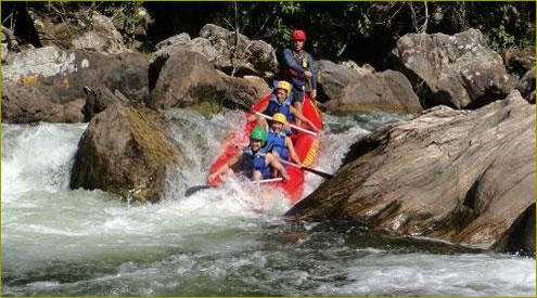 Excursión Sana - Rafting - Buzios