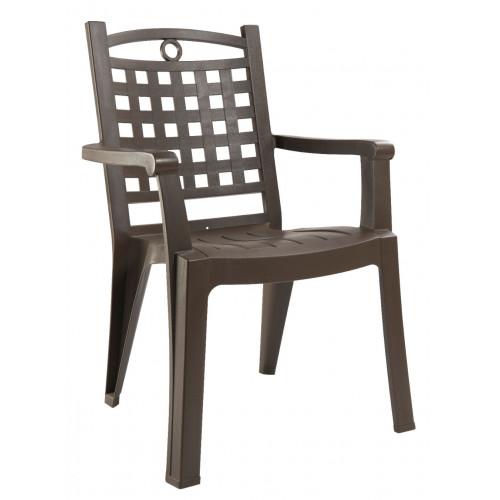 grosfillex salon de jardin amalfi bronze 8 fauteuils bora bronze