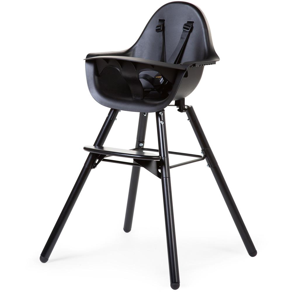 chaise haute bebe evolu 2 noir noir
