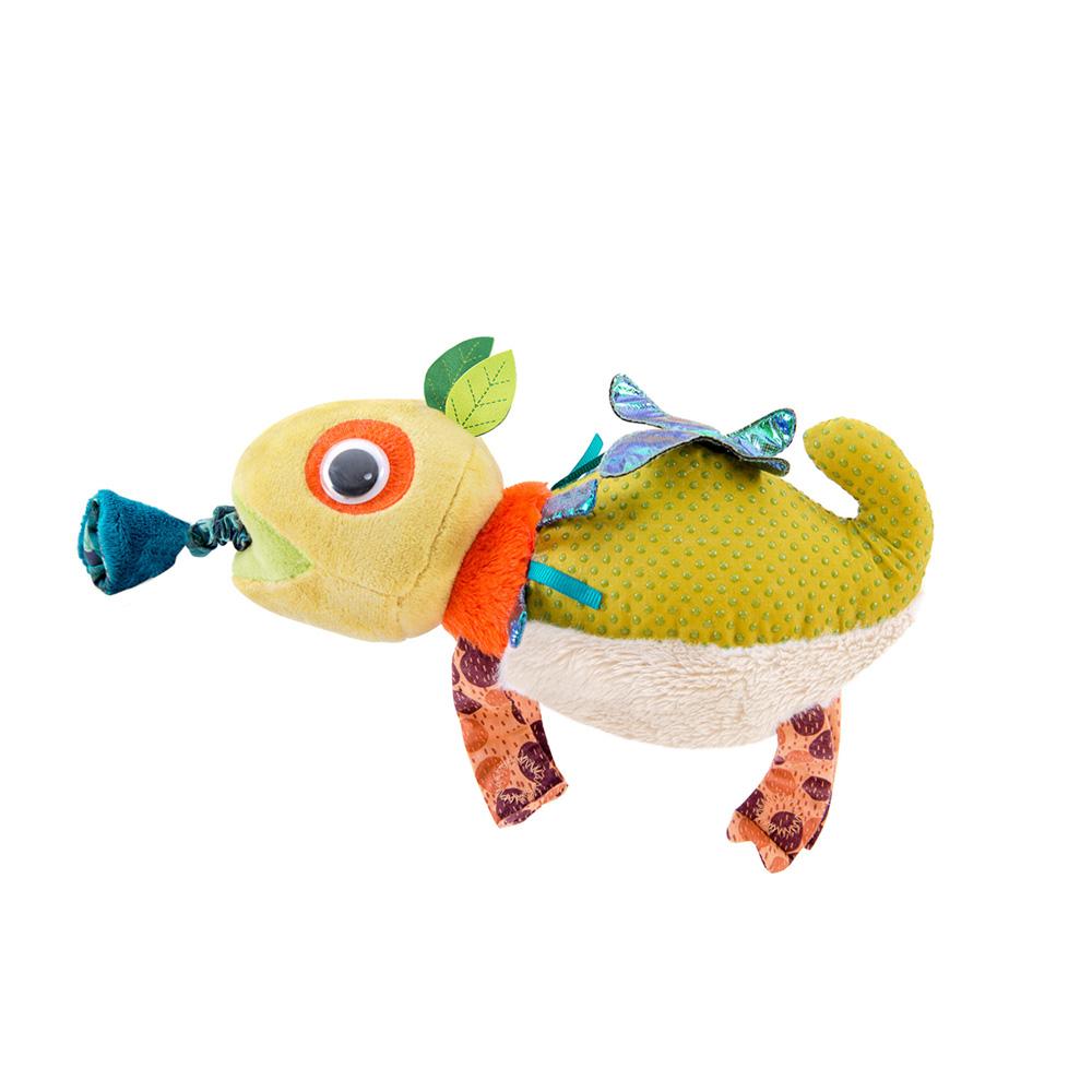 jouet d eveil bebe cameleon vibreur dans la jungle de moulin roty sur allobebe