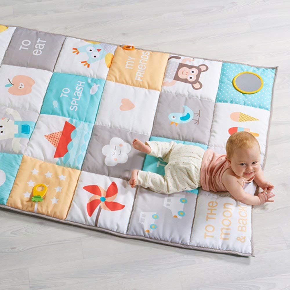 tapis d eveil geant sans arche 100x150cm