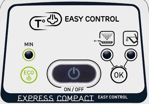 Centrale vapeur - Calor Express Compact Easy Control GV7615C0 - Commandes