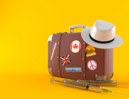 Suitcase Travel Vaccination