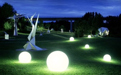 Floating Sphere Lights For Your Wedding