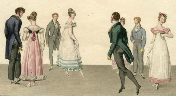 Regency Quadrille Dancers