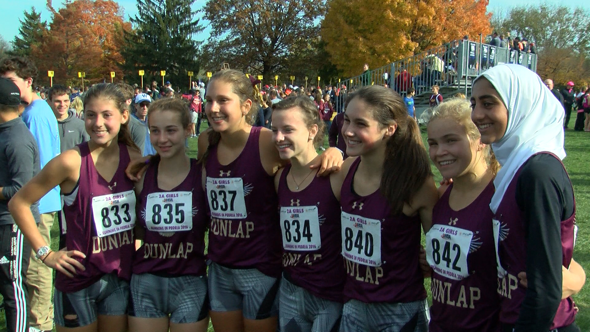Dunlap girls XC takes second
