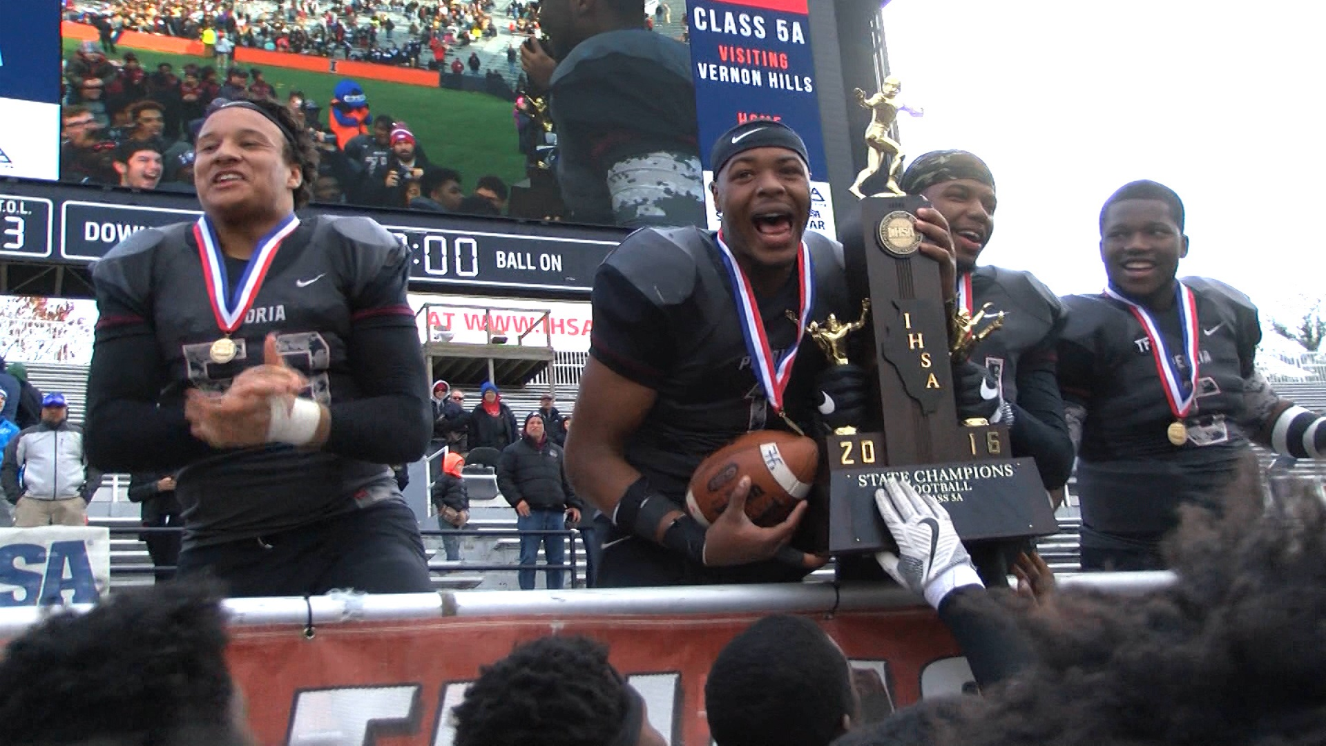 Peoria High wins first state championship