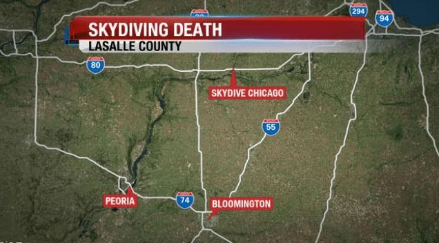 Man dies in LaSalle County skydiving accident