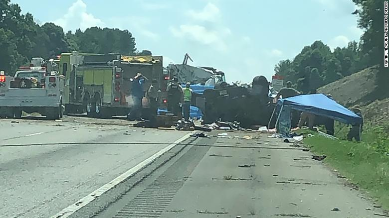 Wrong-way car crash on Georgia highway leaves 7 dead | CIProud