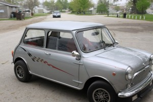 Lyle Kreps and his classic Mini