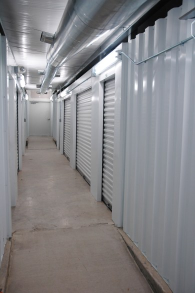 A view of some of our climate-controlled units.