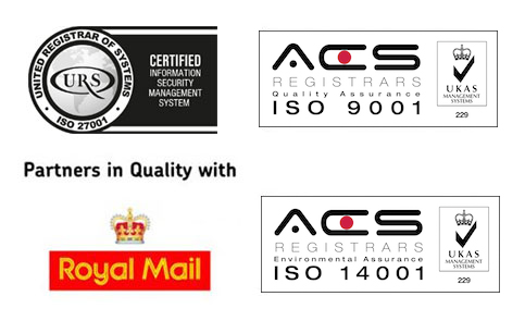 Central Mailing Services ISO Certifications