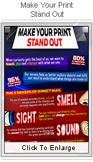 Make Your Print Stand Out infographic