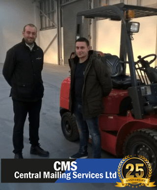 CMS invest in forklifts from West Merica Fork Trucks