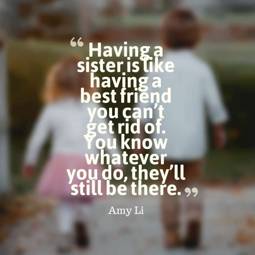 35 Cute Brother And Sister Quotes With Images