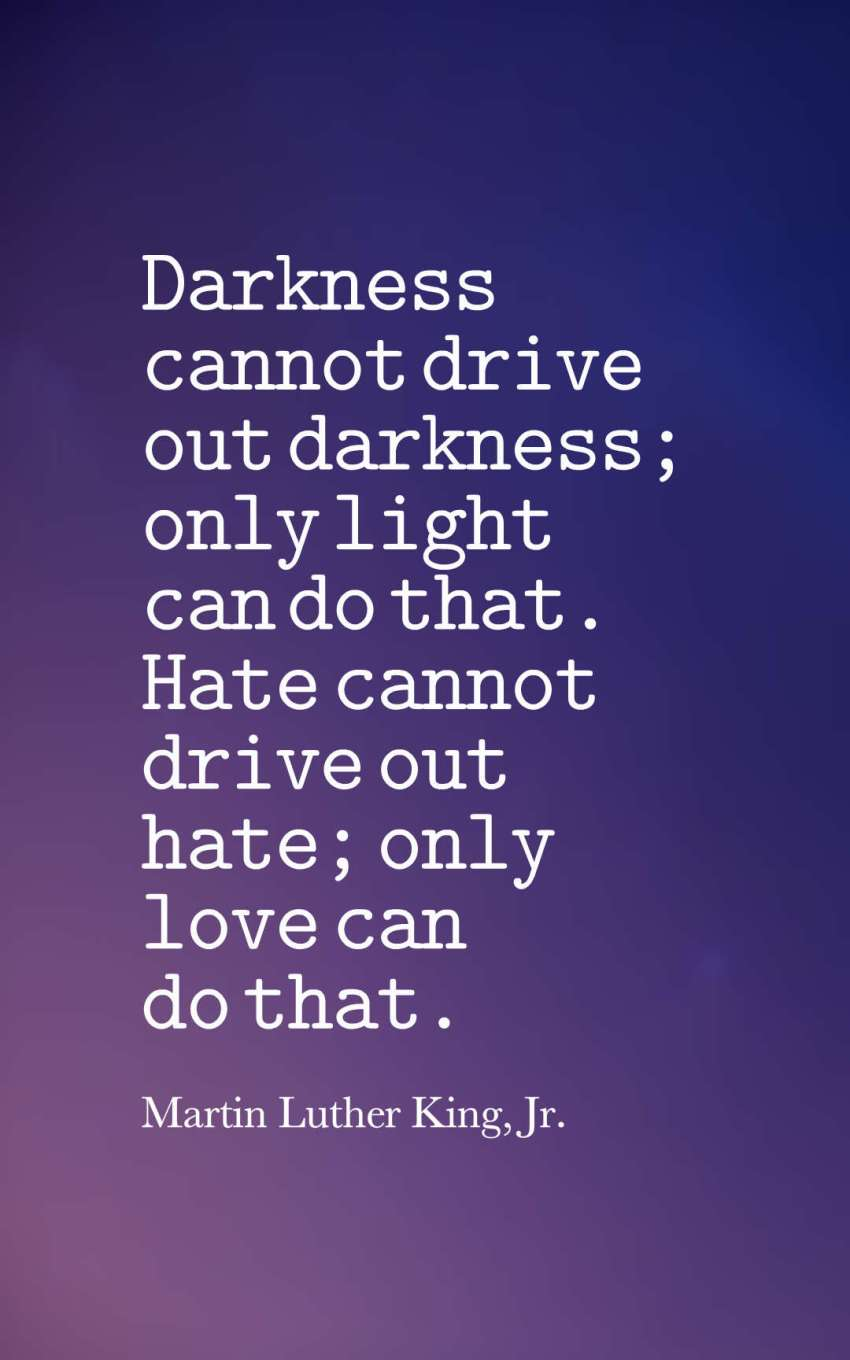 40 Famous Quotes About Darkness And Light