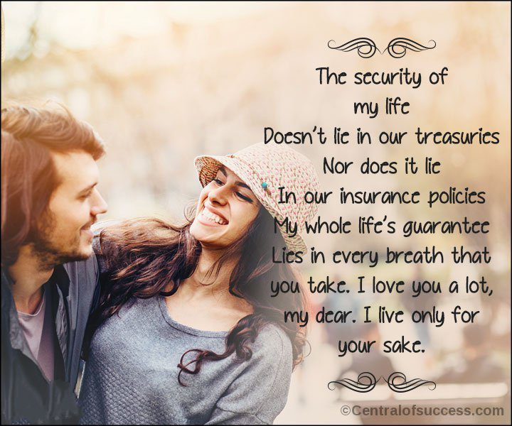 Romantic Poems For Your Husband 1