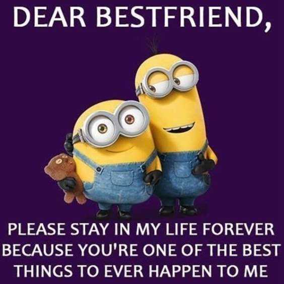 funny minion laugh funny friendship quotes for best friend