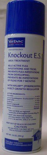 Virbac Knockout E.S. Flea and Tick Spray review