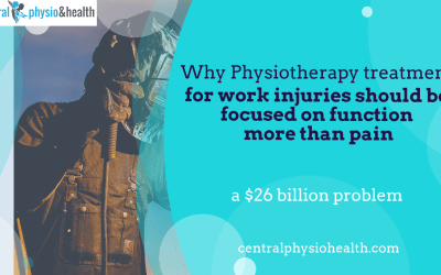 Why physiotherapy treatment for work injuries should be focused on a return to work more than pain.