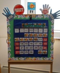 Calendar Happy Days Class
