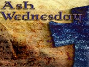 Ash Wednesday Communion Service