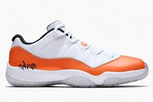 Jordan 11 Low Orange Trance