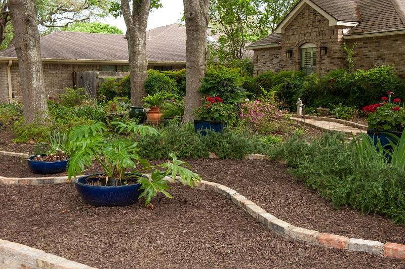 Front Yard Makeover No Grass Doris Reagan Central Texas