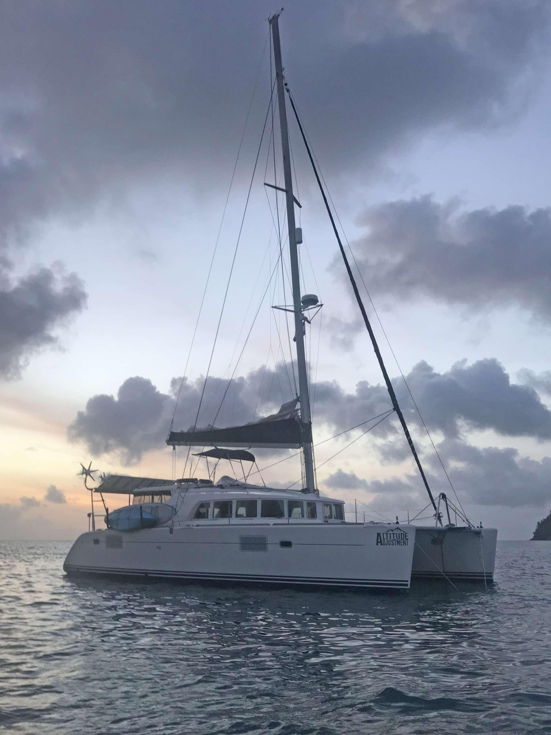 ALTITUDE ADJUSTMENT yacht image # 11