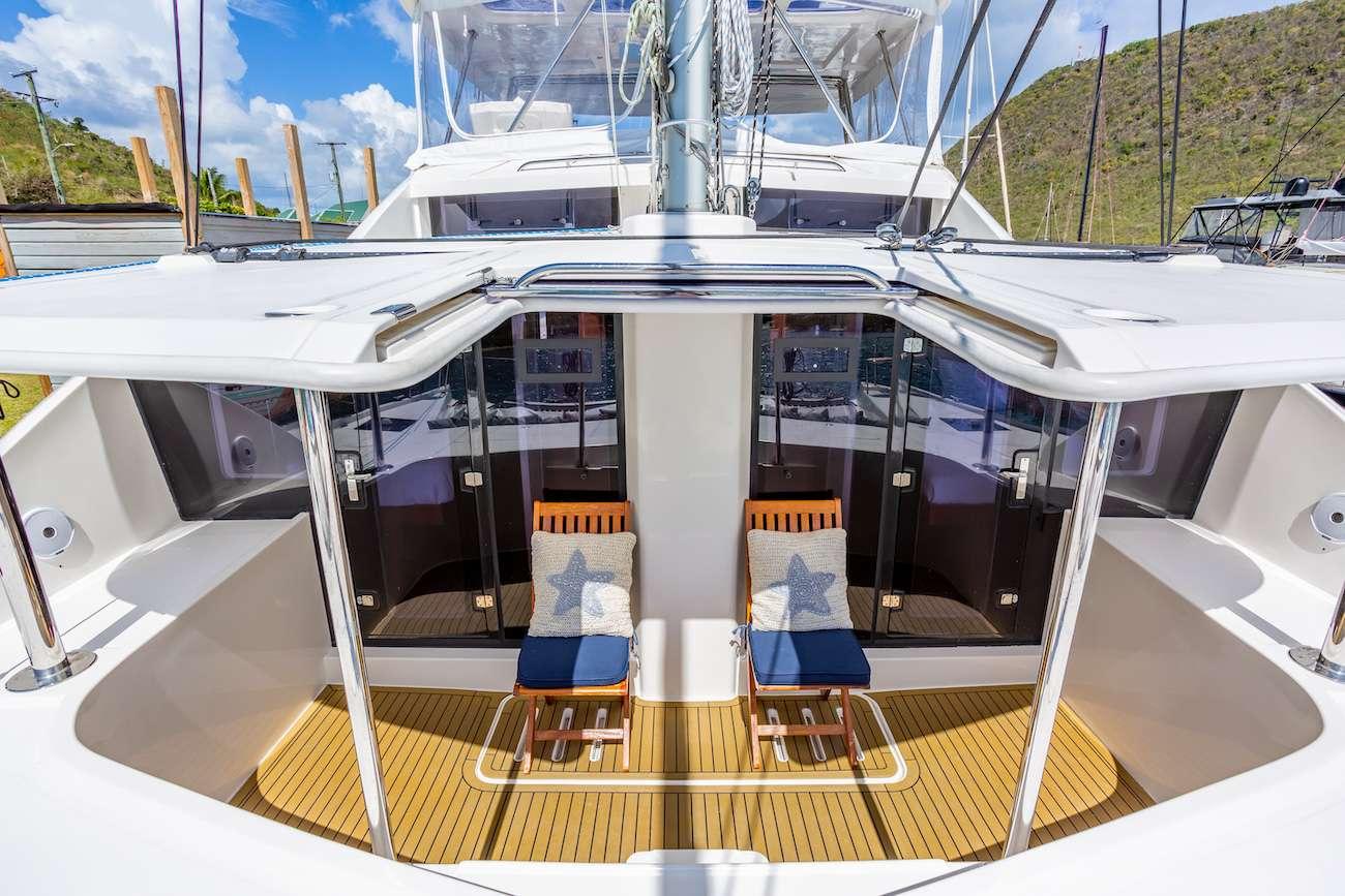 THE ANNEX Yacht Charter Catamaran Ritzy Charters