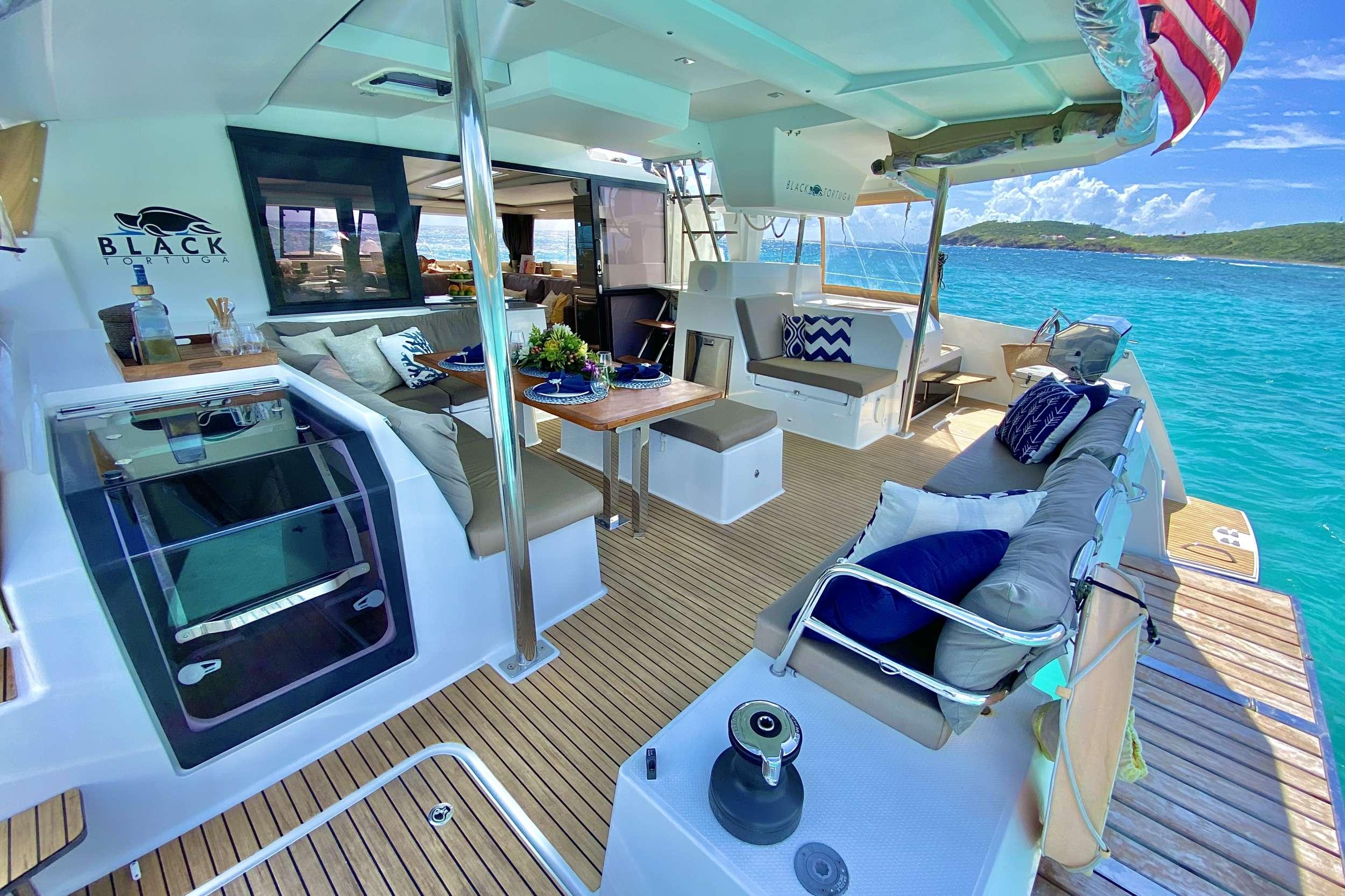 Image of BLACK TORTUGA yacht #12