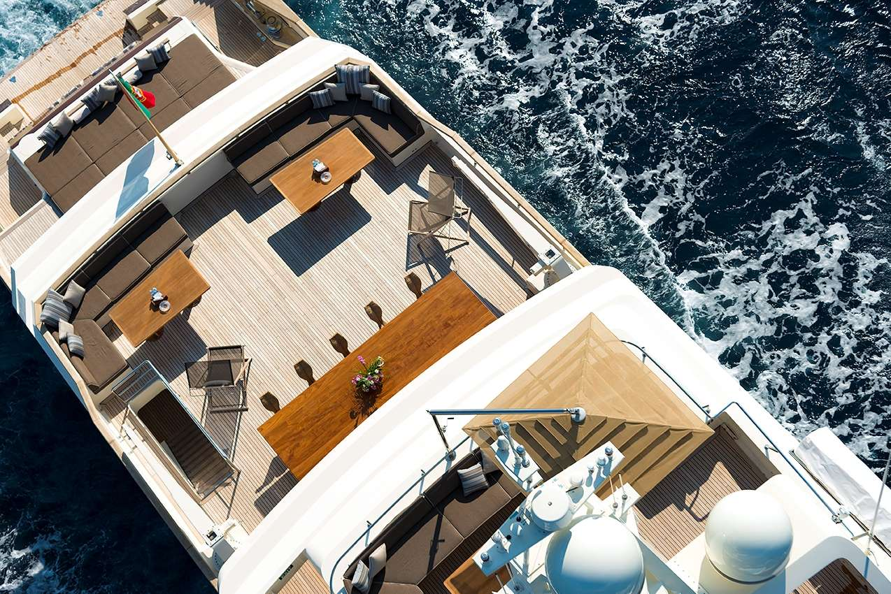 Image of Cloud Atlas yacht #4