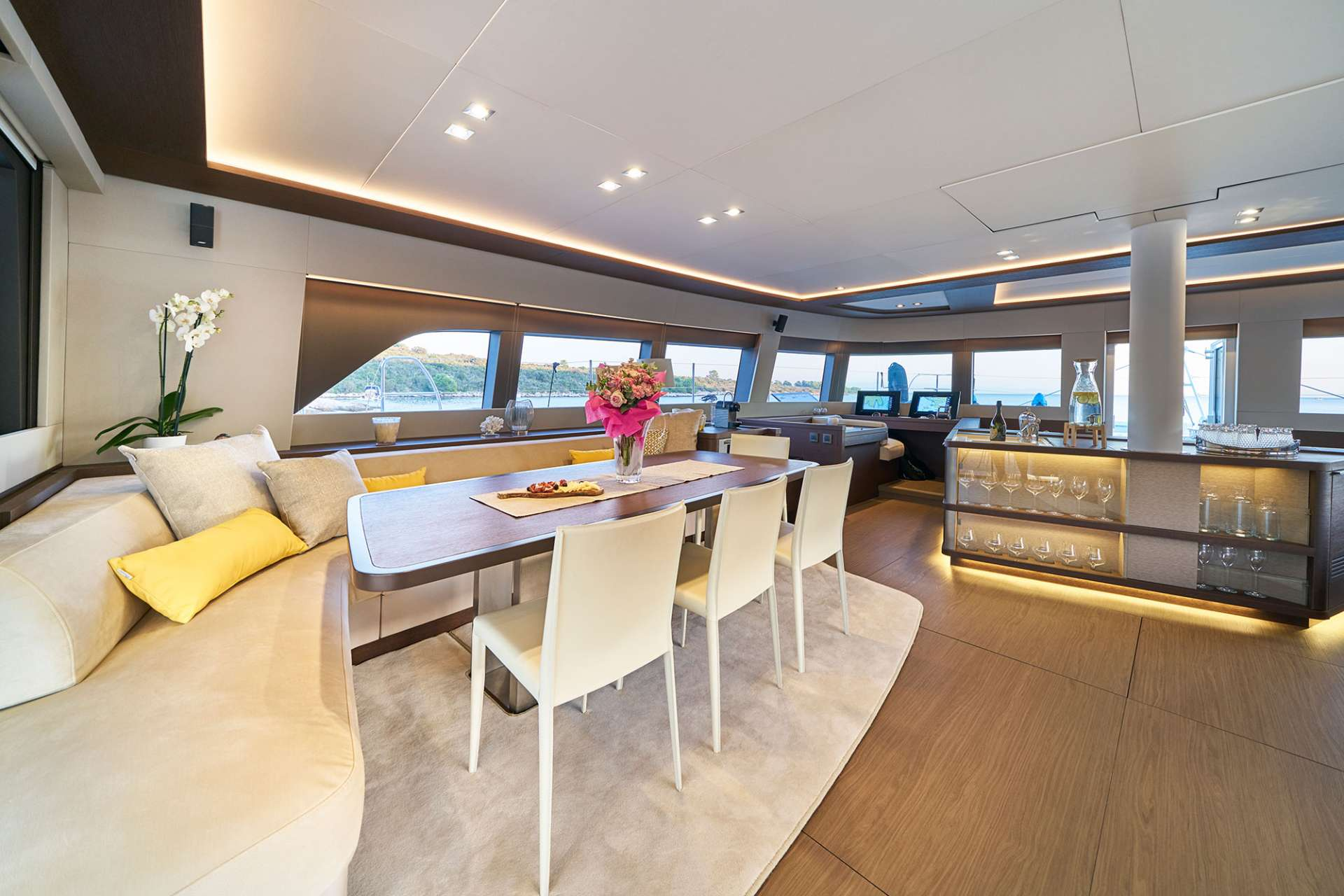 Image of ADRIATIC DRAGON (Lagoon 77) yacht #3