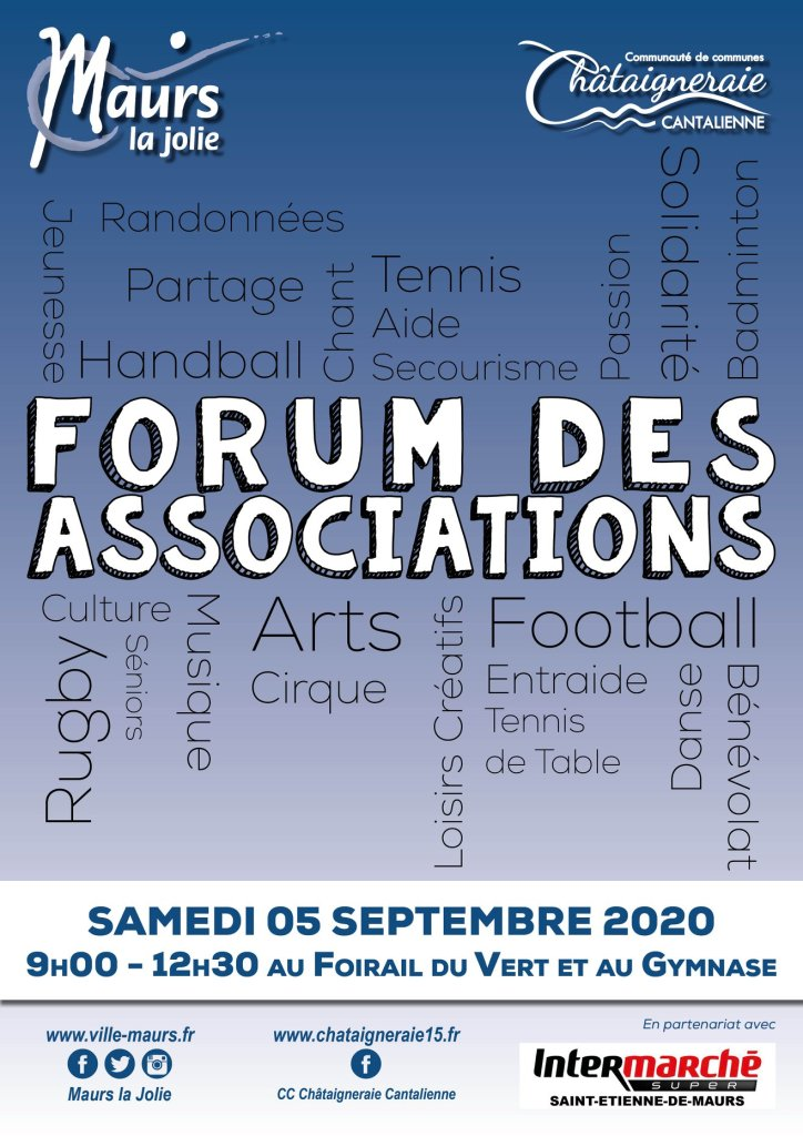 Forum des associations à Maurs la Jolie
