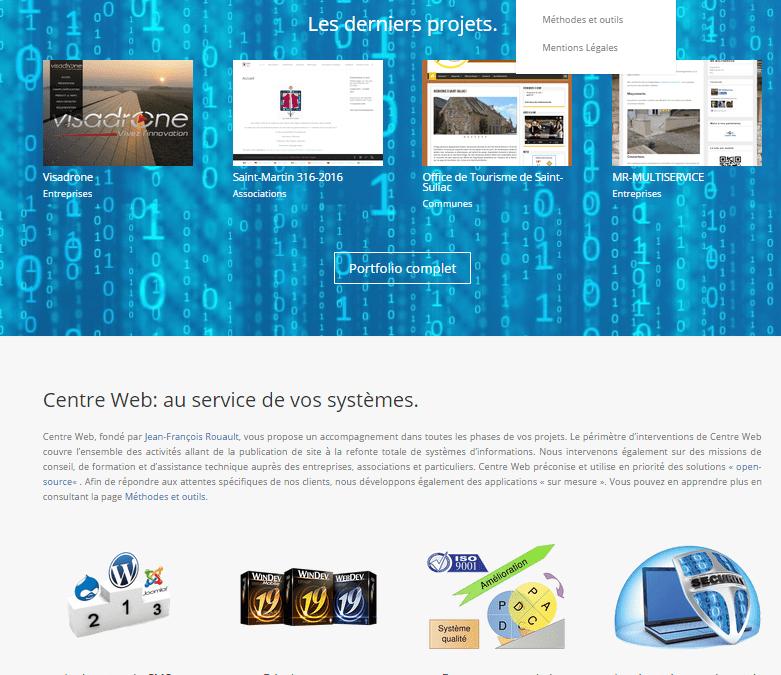 Le nouveau Centre Web est arrivé !