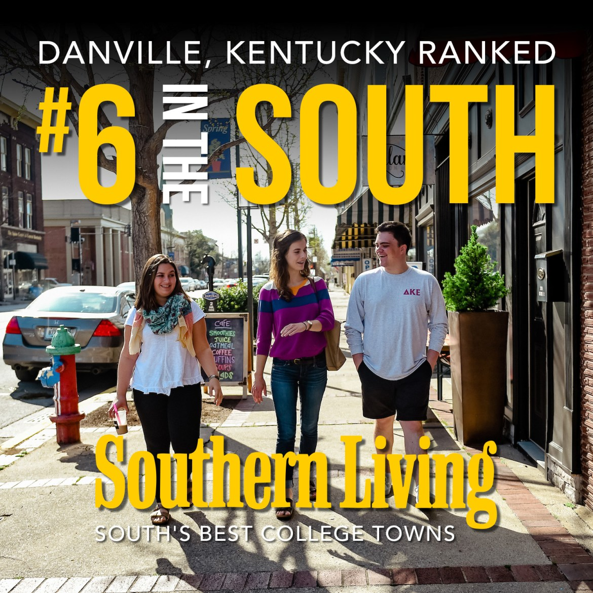 Southern Living ranks Danville #6 in the south